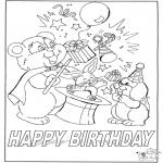 Ofícios - Cartão feliz aniversário 7