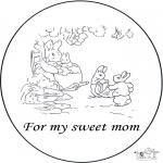 Ofícios - Cartão para a mãe