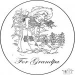Ofícios - Cartão para o avô
