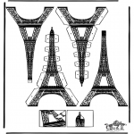Ofícios - Cartaz da Torre Eiffel