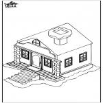 Inverno - Casa na neve 1