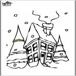 Inverno - Casa na neve 2