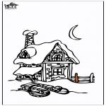 Inverno - Casa na neve 3