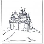 Personagens de banda desenhada - Castelo Disney
