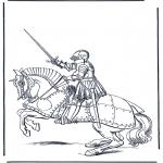 Todos os tipos de - Cavaleiro a cavalo