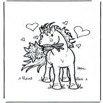 Animais - Cavalo apaixonado