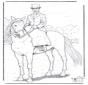 Cavalo com senhora