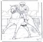 Cavalo e jockey
