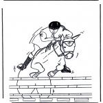 Animais - Cavalo saltante