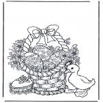 Tema - Cesto com ovos