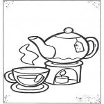 Todos os tipos de - Chá e chávenas
