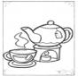 Chá e chávenas