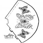 Ofícios - Chapéu de borboleta 2