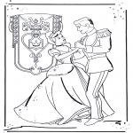 Personagens de banda desenhada - Cinderela 1