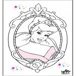 Personagens de banda desenhada - Cinderela 15