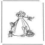 Personagens de banda desenhada - Cinderela 2
