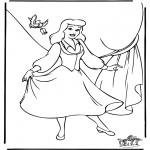 Personagens de banda desenhada - Cinderela 8