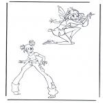 Personagens de banda desenhada - Clube Winx 7