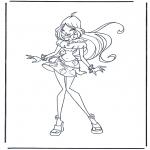 Personagens de banda desenhada - Clube Winx