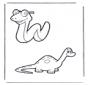Cobra e dinossauro