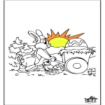 Tema - Coelhinho de Páscoa 13