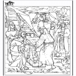 Pinturas bibel - Colorir - Jacó