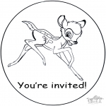 Ofícios - Convite Bambi