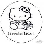 Ofícios - Convite de aniversário