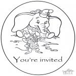 Ofícios - Convite Dumbo
