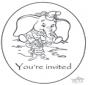 Convite Dumbo