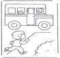 Corre para o autocarro