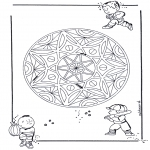 Pinturas Mandala - Crianças geo mandala