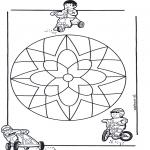 Pinturas Mandala - Crianças mandala 10
