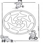 Pinturas Mandala - Crianças mandala 12