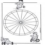 Pinturas Mandala - Crianças mandala 13