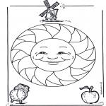 Pinturas Mandala - Crianças mandala 15