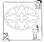 Crianças mandala 16