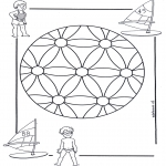 Pinturas Mandala - Crianças mandala 2