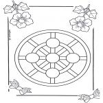 Pinturas Mandala - Crianças mandala 3