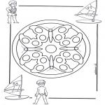 Pinturas Mandala - Crianças mandala 4