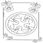 Pinturas Mandala - Crianças mandala 6
