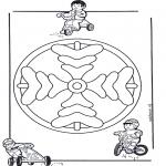 Pinturas Mandala - Crianças mandala 8