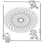Pinturas Mandala - Criançasmandala 28
