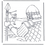 Pinturas bibel - David e Golias 1