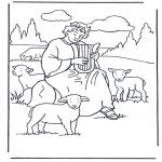 Pinturas bibel - David o pastor