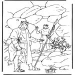 Pinturas bibel - Davis e Saúl