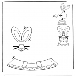 Tema - Decoração de ovos de Páscoa 4