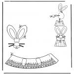 Tema - Decoração de ovos de Páscoa