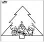 Decorações da árvore de Natal