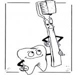 Todos os tipos de - Dentes e escova de dentes